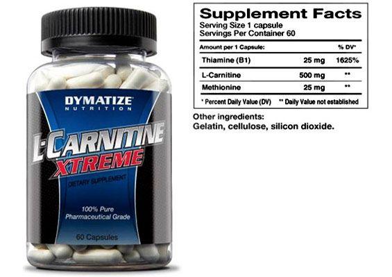 Carnitine supplément